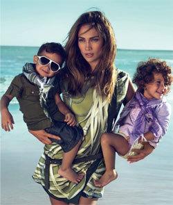 Dženifer Lopez sa blizancima