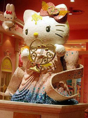 Skulptura Hello Kitty