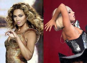 Lady Gaga i Beyonce