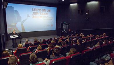 Održano prvo motivaciono predavanje u UŠĆE Shopping Centru