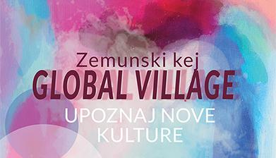 Global Village na Zemunskom keju u sredu 24. jula